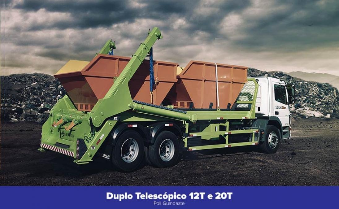 Duplo Telescópico 12T e 20T